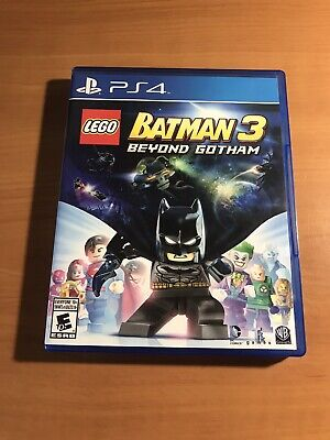 Lego Batman 3 (PS4 2014) USED-Includes Manual and Case- Good condition