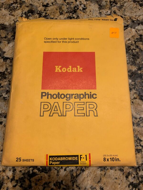 Vintage Kodak Photographic Paper Kodabromide F1