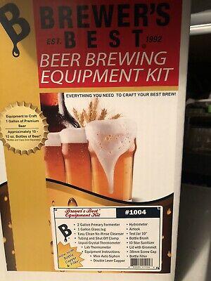 Brewer's best 1 Gallon Starter Kit + 24 Amber Beer