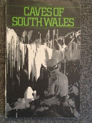 CAVING guide book. Caves of South Wales. VERY RARE early edition. Signed