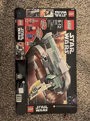*COMPLETE* Lego Star Wars Slave I 6209 Instructions, Mini Figures, Ship, Box!