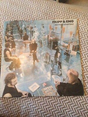(ROBERT) FRIPP & (BRIAN) ENO, (NO PUSSYFOOTING), ORIGINAL 1973 UK ISLAND LP, EMI