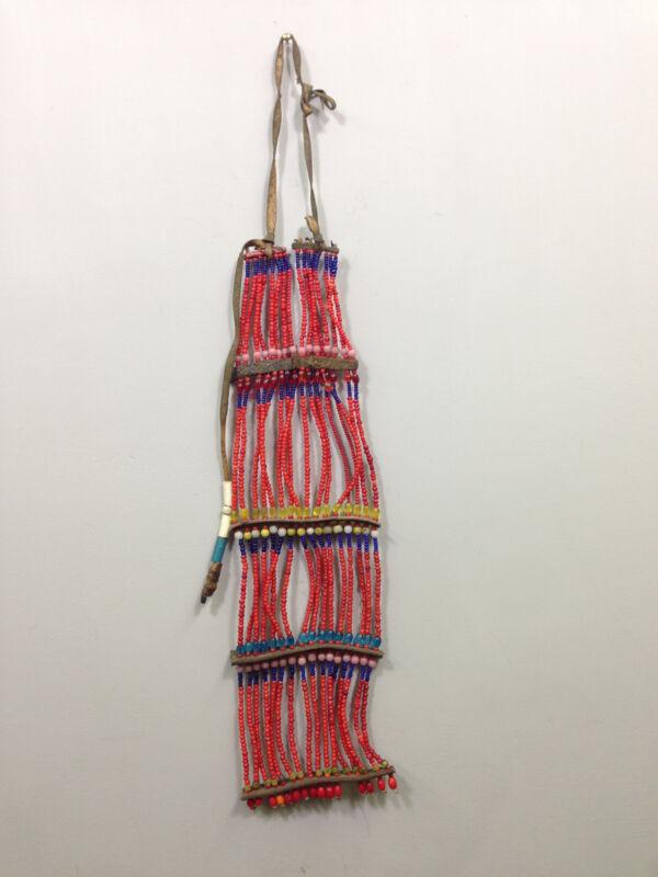 Ethiopian African Beaded Oromo Tribal Necklace