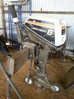 6 hp johnson outboard motor Clarence Valley Preview