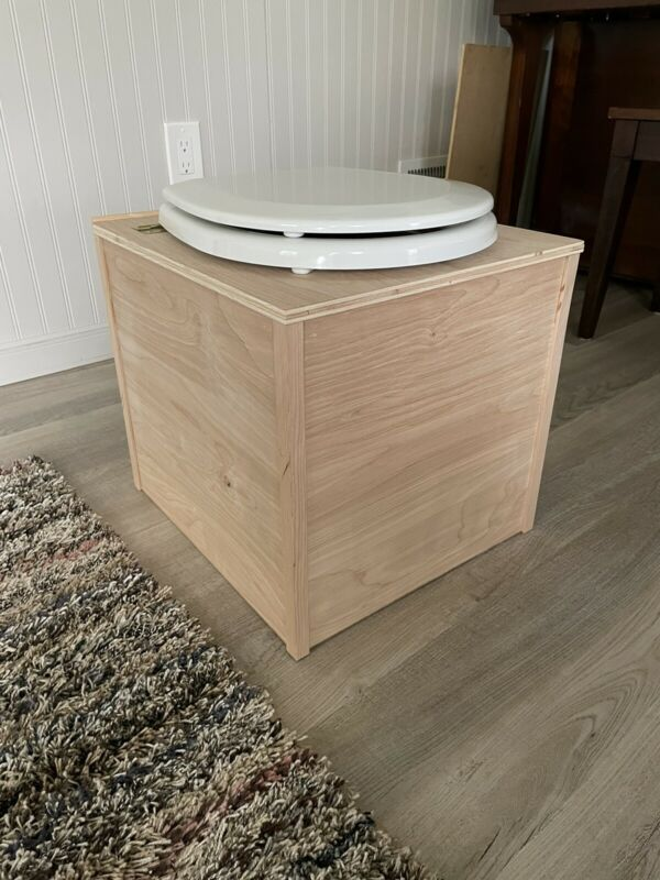 Compact Hand Crafted Composting Toilet