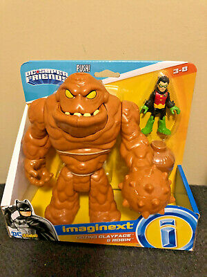 """imaginext DC Super Friends- """"Oozing Clayface & Robin"""""""