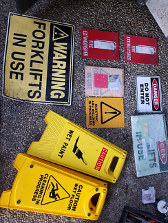 Assorted Industrial Safety Signage
