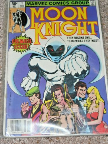 MOON KNIGHT MARVEL COMICS PREMIERE ISSUE #1 1980
