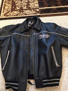 Avirex leather jacket for sale