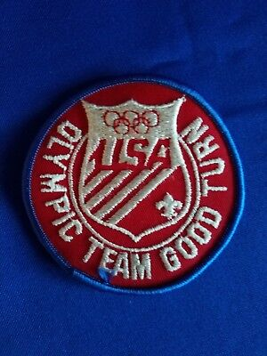 BSA Patch and Olympic Team Good Turn