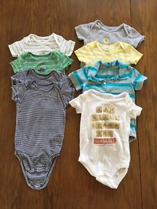 Boy 12 month onesies and 9-12 month shirts