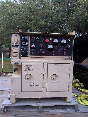 Military Mep-802a 5kw Diesel Generator 420 Hours 60hz 120v 240v 208v