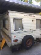Viscount caravan 14 ft 6 honest old van HOOK UP AND TRAVEL Nambour Maroochydore Area Preview