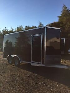 New High Country 7x14 , 7x16 aluminum trailers