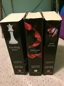 Twilight Series (3 out of 4 books)