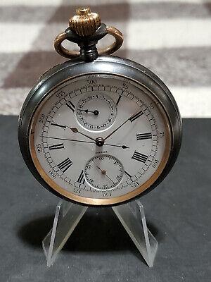 Rare Antique OMEGA Chronograph Pocket Watch---Very Nice