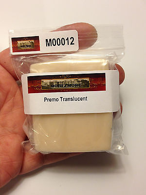 M00012a MOREZMORE Try Premo Translucent Polymer Clay Teeth Eyeballs Nails 2oz