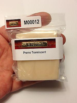 M00012 MOREZMORE Try Premo Translucent Polymer Clay Teeth Eyeballs Nails 2oz A60