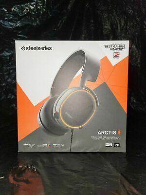 SteelSeries Arctis 5 RGB PC DTS 7.1 Gaming Headset
