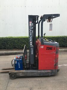 H0009V 1.4T Battery Electric Reach Stand Up Truck Springvale Greater Dandenong Preview