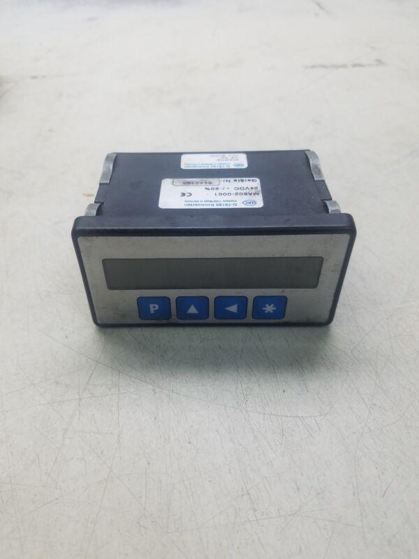 Siko Kirchzarten D-79195 Portable Digital Meter Counter MA502-0001