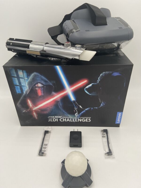 Star Wars Jedi Challenges VR Headset With Lightsaber Controller and Tracking