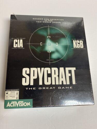 PC Big Box (NIB Sealed): SpyCraft: The Great Game