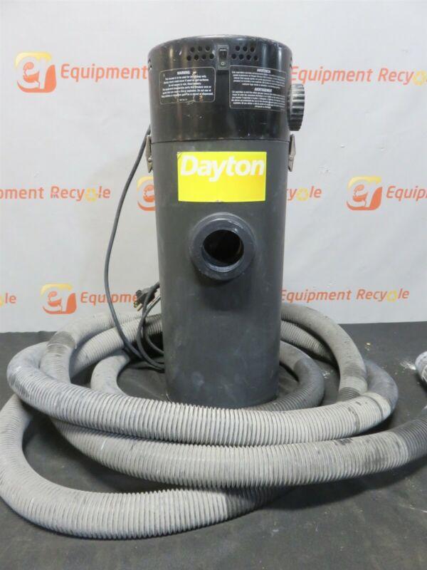 "Dayton 2Z988C Dry Vacuum Hang Up Dry 6 Gallon 1 1/2"" Hose 2Z988C"