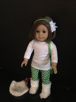 American Girl Doll Brunette Hair