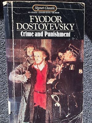 Crime And Punishment By Fyodor Dostoyevsky Pb Book Free Shipping