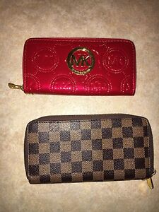 New ! Michael Kors and Louis Vuitton wallets
