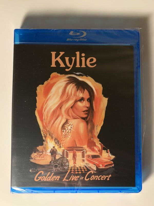 Kylie Minogue - Golden Live In Concert - On Blu-ray - Brand New & Sealed BLACK