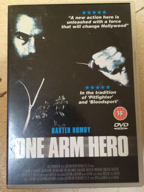 Carter Wong Baxter Humby ONE ARM HERO ~ Old School Kung Fu Film   UK DVD