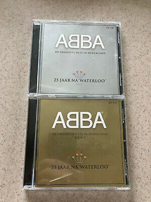 ABBA DUTCH CD SET GREATEST HITS. MADE IN NETHERLANDS