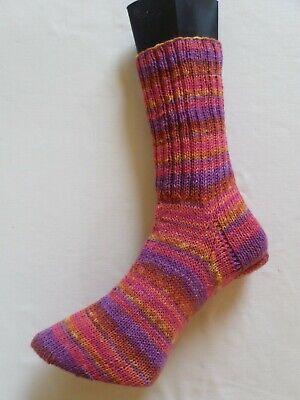 Handgestrickte Socken  Gr. 39/40 Opal / Regenwald