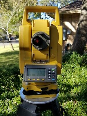 Topcon Gpt-3005w Reflectorless Conventional Surveying Total Station
