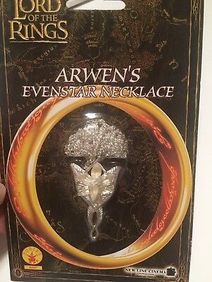 Rubies Lord of The Rings Arwen's  Evenstar Costume Jewelry Necklace, New ](Arwen Lord Of The Rings Costume)