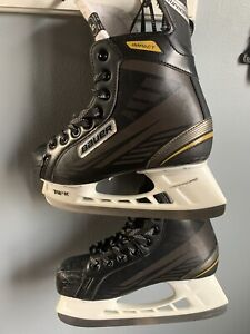 Boys Youth Bauer supreme impact Skates.