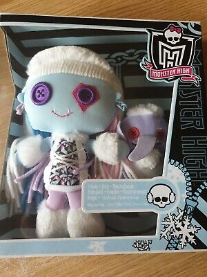 Monster High Doll. Abbey Bominable Plush. New In Box.