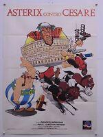 Asterix Contro Cesare Animazione Gibbons - Goscinny E Uderzo Manifesto Orig.1987 -  - ebay.it