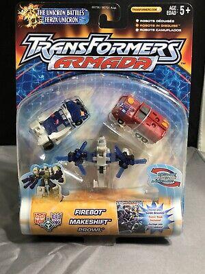 Transformers Armada The Unicron Battles Emergency Mini-con Team Firebot, Prowl