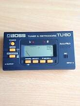 Boss TU-80 Tuner/Metronome AS NEW rrp $50 Wallsend Newcastle Area Preview