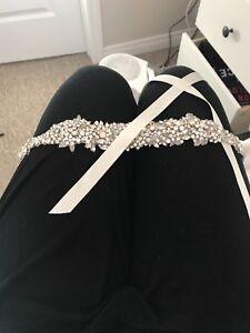Sash for wedding dress