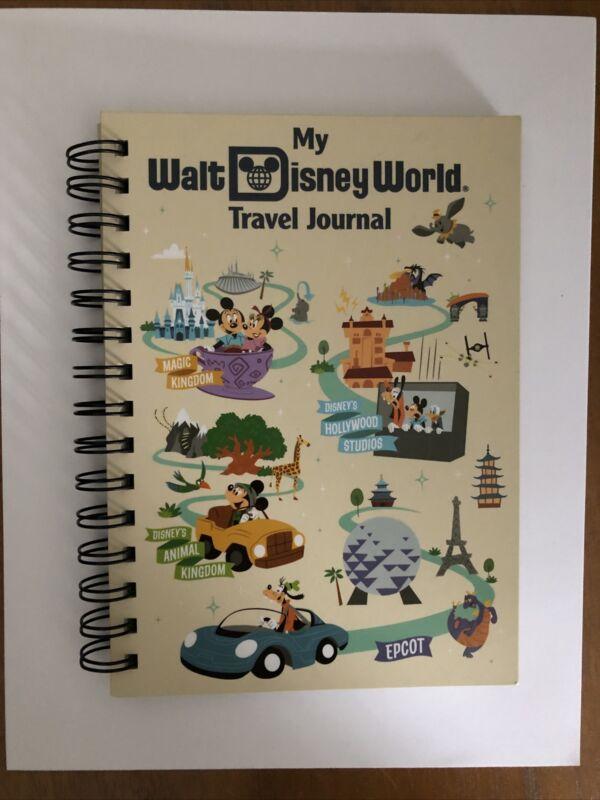 BRAND NEW Walt Disney World My Travel Journal, NEW Park Life Edition