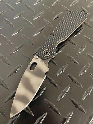Mick Strider Knives SnG hybrid GG (G10) tiger stripes cts-xhp