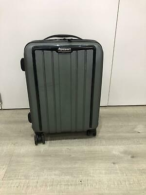 Cabin Size Hard Samsonite Suitcase in Grey