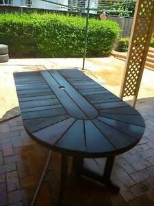 OUtdoor table and chairs,  Tasmanian She Oak