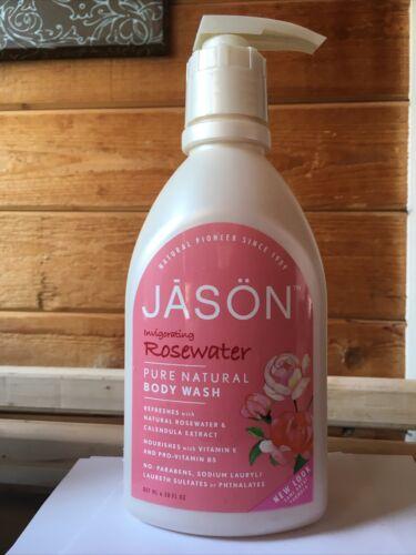 Jason 30 oz Invigorating Rosewater Pure Natural Body Wash
