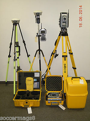 Trimble Is Solution S8 Robotic Total Station R8 Model 3 Gps Gnss Rtk Set Tsc3