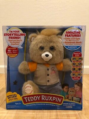 Bnib Teddy Ruxpin 2017 Bluetooth Official Return Of The Storytime   Magical Bear